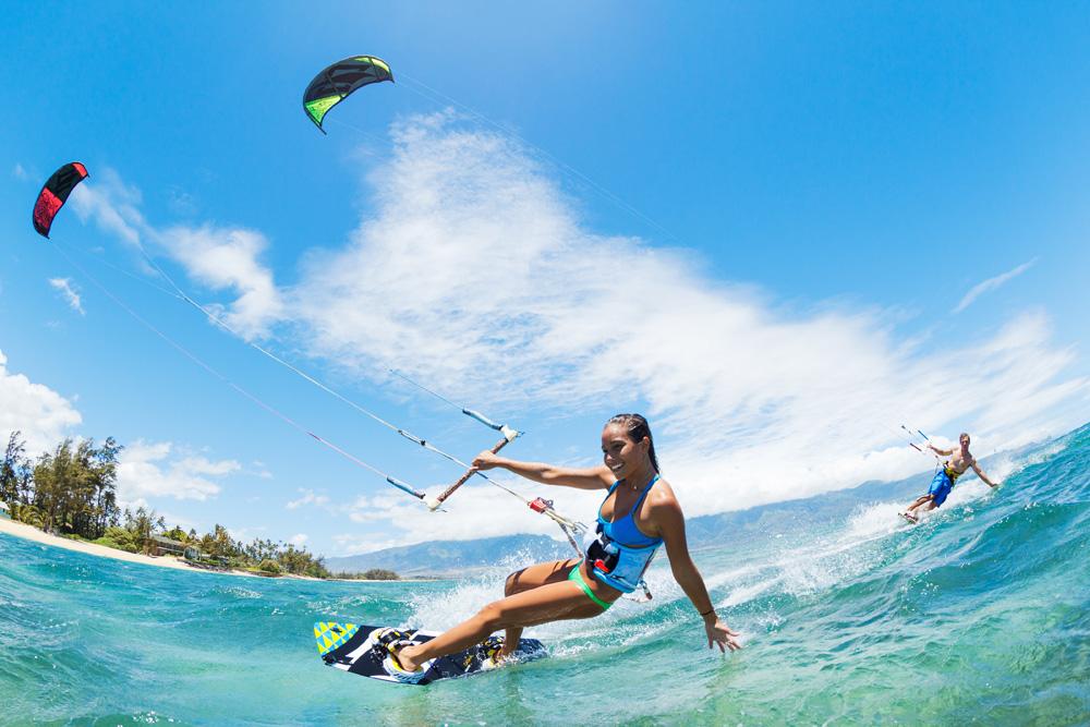 ウインドサーフィン、風を知る
