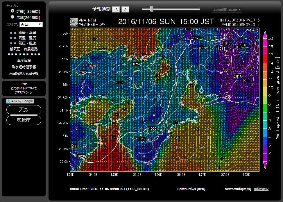 GPV気象予報